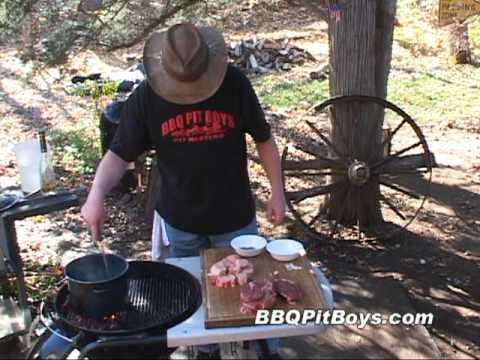 Classic Grilled Beef Stew Cooking Recipe by the BBQ Pit Boys