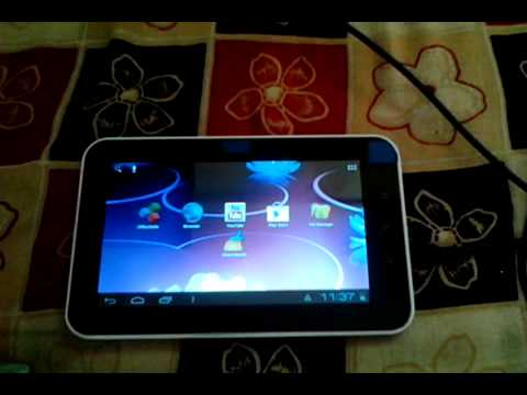 how to connect hard drive to rca tablet