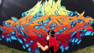 THEMEASEVEN WILDSTYLE GRAFFITI TUTORIAL