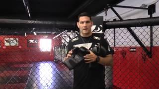 Chris Weidman Walks Through the Bad Boy Legacy Boxing Gloves