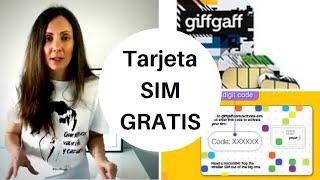 Cómo conseguir tu tarjeta SIM para Reino Unido giffgaff 2019