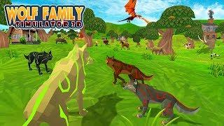 Wolf Family Simulator 3D