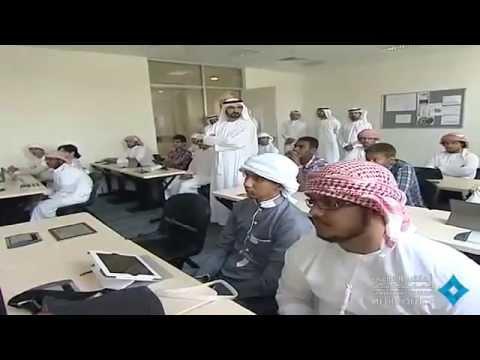 H.H. Sheikh Mohammed bin Rashid Al Maktoum Visits UAEU