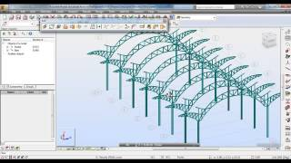 Autodesk Robot Structural Analysis 2014 Tutorial-Modeling of Curved Truss using Autodesk Robot