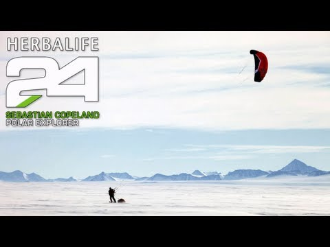 Sebastian Copeland, Polar Explorer &#038; Herbalife 24 Enthusiast