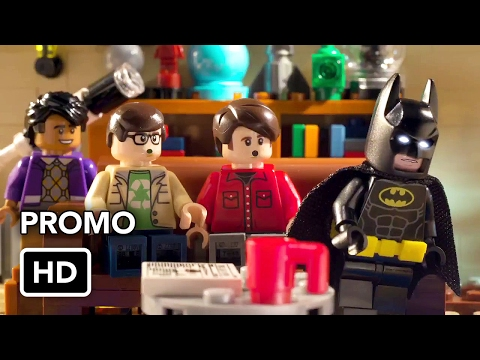 Lego Batman rencontre le casting de The Big Bang Theory