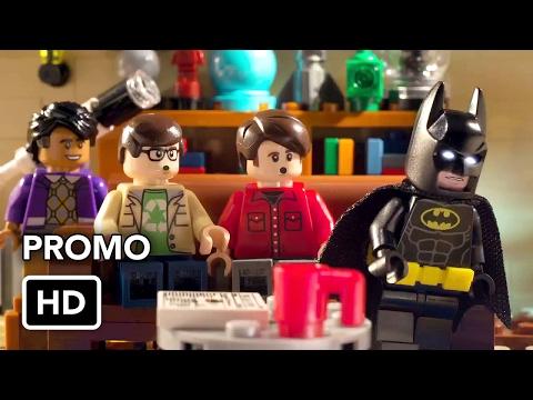 Lego Batman rencontre le casting de The Big Bang Theory