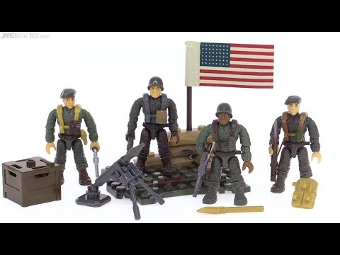 Mega Bloks WWII Call of Duty Classic Infantry Pack review