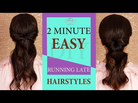 2 Minute Quick Hairstyle For Messy Hair | Messy Hairstyles Tutorial 2018 | Chandni Singh