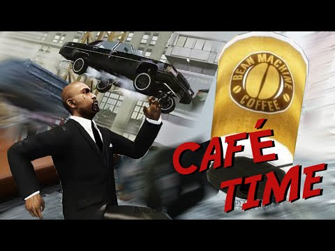 GTA 4 Presidente & Guardaespaldas - Café time (Loquendo) HD