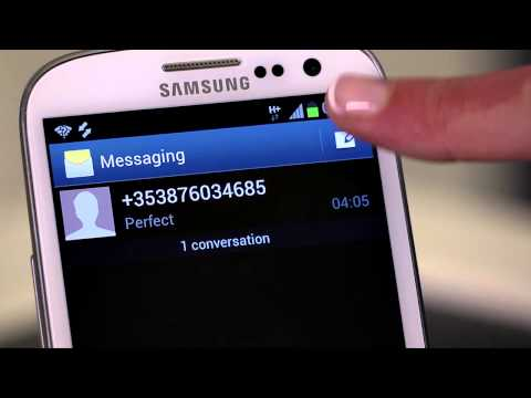Block SMS Messages On Samsung Galaxy S3 Mini