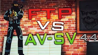 Контра Сити : КВ FTP vs AV-AS - в сете Киборг