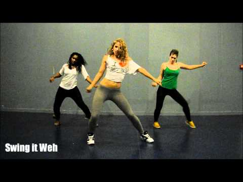 KES - Precision Wine - Dancehall Soca Choreo by Aya
