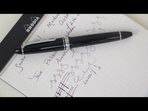 Sailor 1911 Fountain Pen Review