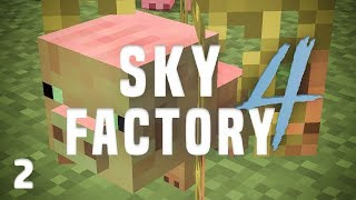 SkyFactory 4 Ep. 2 Animal Croppings + Supporter Server