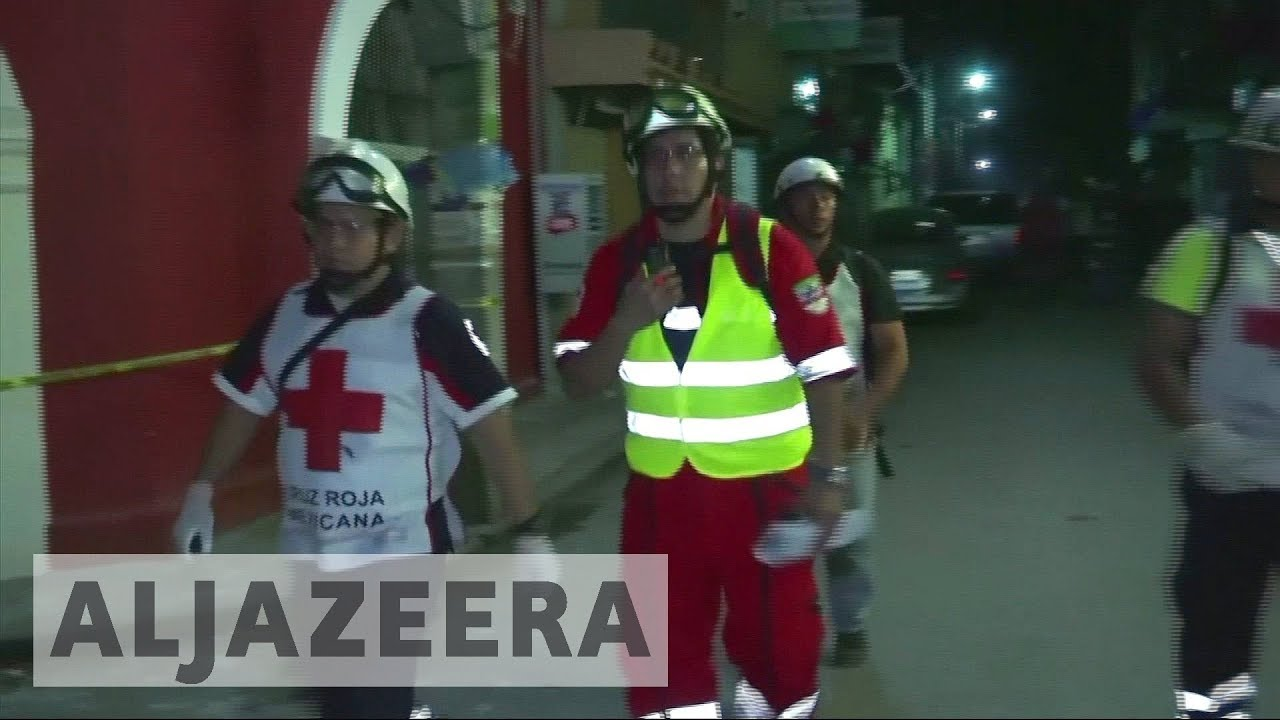 Mexico rescuers find earthquake survivors under school rubble