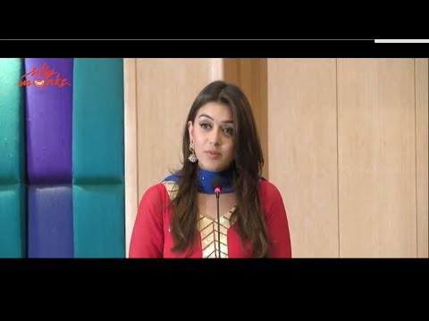 Hansika Speech - Maan Karate Movie Success Meet Image 1