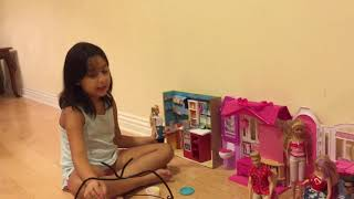 Barbies dream house with NANOR