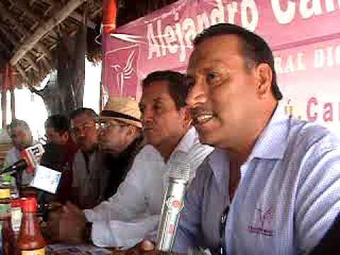 Partido Humanista con sus candidatos distritos 06 y 08 de Mazatlan