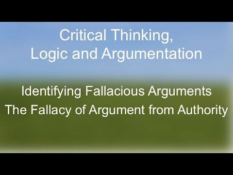 what is a fallacy in relation to critical thinking