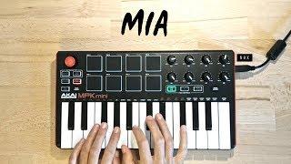 MIA - Bad Bunny feat. Drake   Cover (Akai Mpk Mini Mk2)