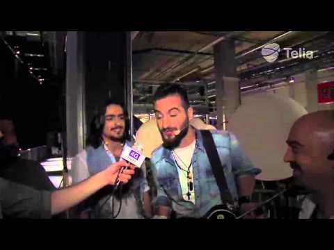 EUROVISION EXCLUSIVE! Backstage interview right after performance of Dorians - Armenia