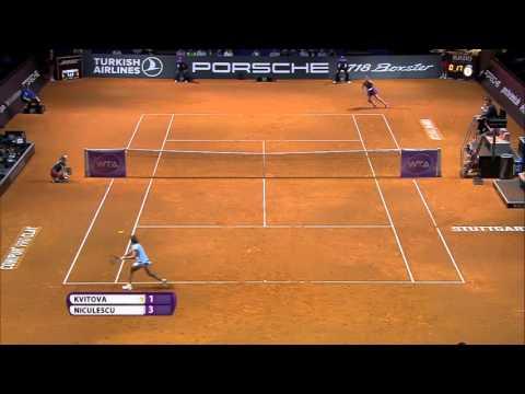 2016 Porsche Tennis Grand Prix Hot Shot | Monica Niculescu
