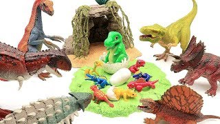 Who is Dinosaur Eggs? Transformer Real Dinosaur- Jurassic World Fun Dino Toys For Kids 공룡메카드