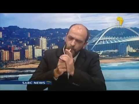 WEED ACTIVIST SMOKES ON NATIONAL TELEVISION! - #ThugLife South Africa