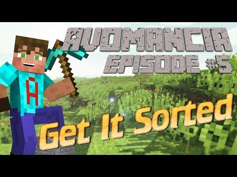 Minecraft Survival lets Play | Avomancia Ep5 | We HAVE to sort it all out | Minecraft solo survival