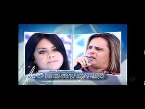Paulinha Abelha e Marlus Na Rede Record