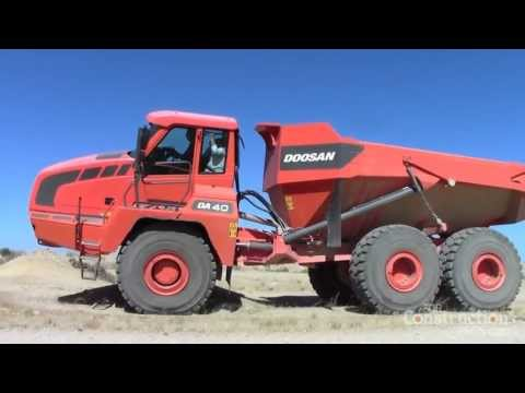 New Power, Transmission and Cab for Doosan Articulated Dump Trucks