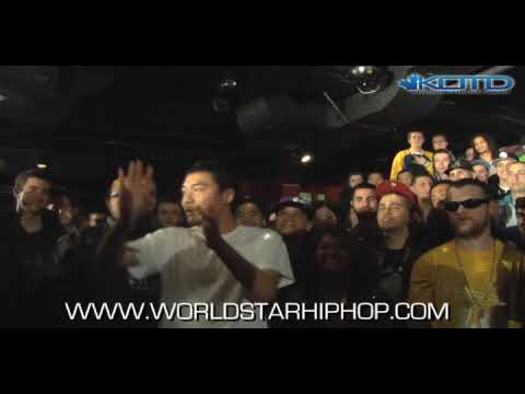 KOTD - Rap Battle - Kid Twist vs Dumbfoundead
