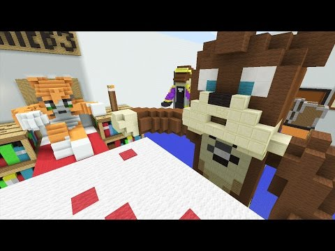 Minecraft Xbox - Stampy's Bedroom - Hunger Games Music Videos