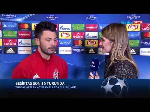 Tolgay Arslan Röportajı (Beşiktaş - Porto Maç Sonu)
