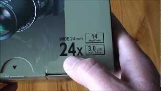 Fujifilm Finepix S4200 Bridge Digital Camera Unboxing and First look