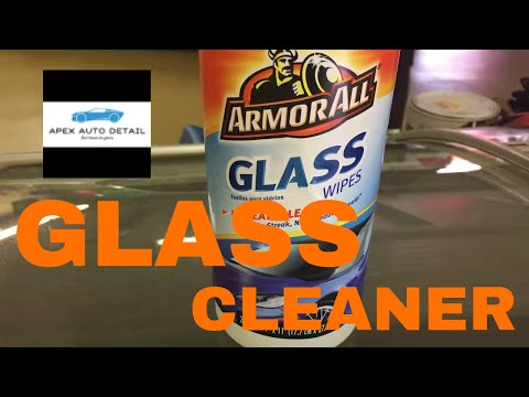 Auto Glass Care: Armor All Glass Wipes!! No streaks....No Residue!!