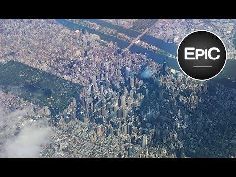 Landing at John F. Kennedy International Airport (JFK) - New York City, U.S. (HD)
