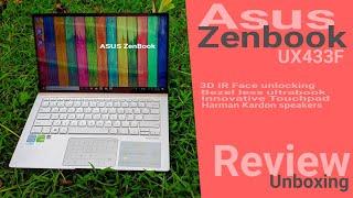 Asus Zenbook UX433F Review (14 Inch Ultrabook) Premium Redefined | Asus Zenbook 14