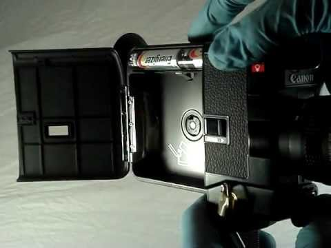 Sold: Canon 310 XL Movie Camera Cine Super 8mm Film in Full Working Order Leather Case