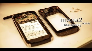 Doogee TITANS2 DG700-Disassembly