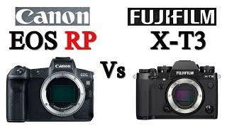 Canon EOS RP vs Fujifilm X-T3
