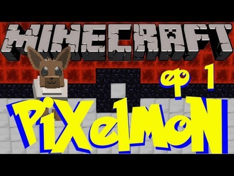 Pixelmon Ep. 01 - Blind Run! (Minecraft Pokemon Mod)