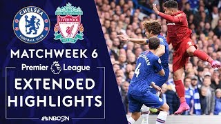 Chelsea v. Liverpool | PREMIER LEAGUE HIGHLIGHTS | 9/22/19 | NBC Sports