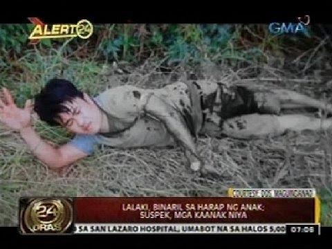 24 Oras: Lalaki, binaril sa harap ng anak; suspek, mga kaanak niya