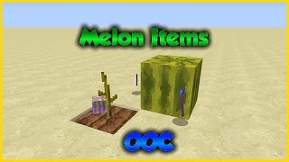 Minecraft: Melon Items | Only One Command