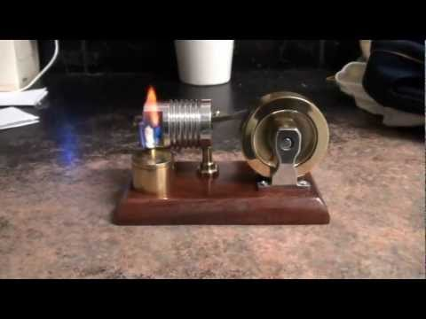 Home made Flame Licker vacuum engine