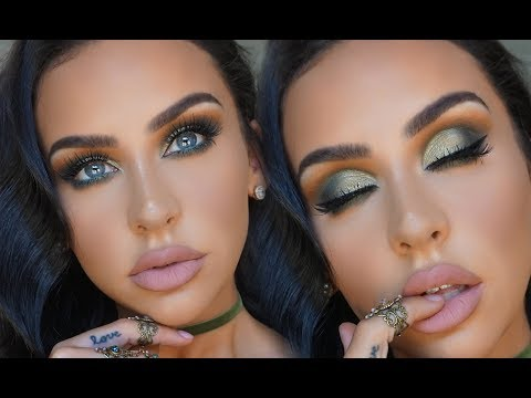OLIVE SMOKEY EYE: ABH SUBCULTURE PALETTE   Carli Bybel