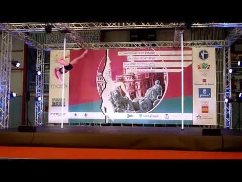 II Campeonato Pole Sport España. VANE P. AVILA. 1ª Clasificada Categoría Profesional B.