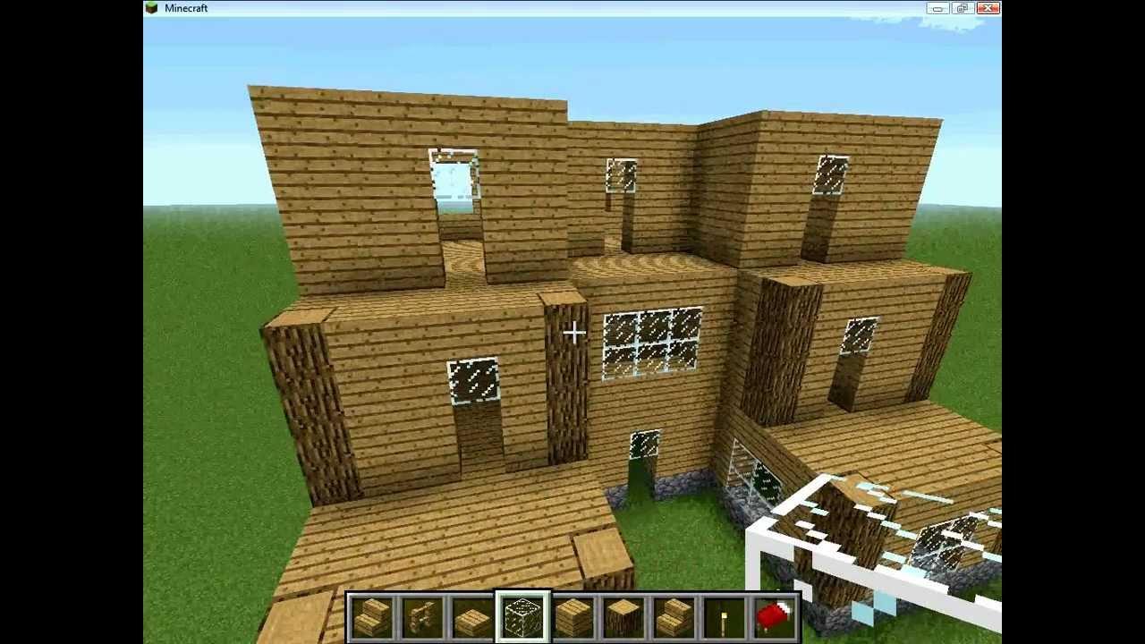 Minecraft construction d 39 une ville pisode 1 partie 2 youtube - Video minecraft construction de fou ...